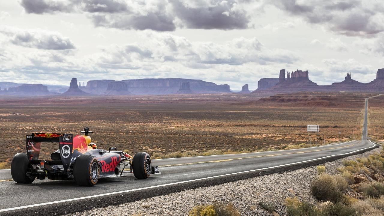 Daniel Ricciardo Makes A Road Trip Across The Usa In A F1 Car Kickass Trips