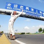 Arriving in Shanghai