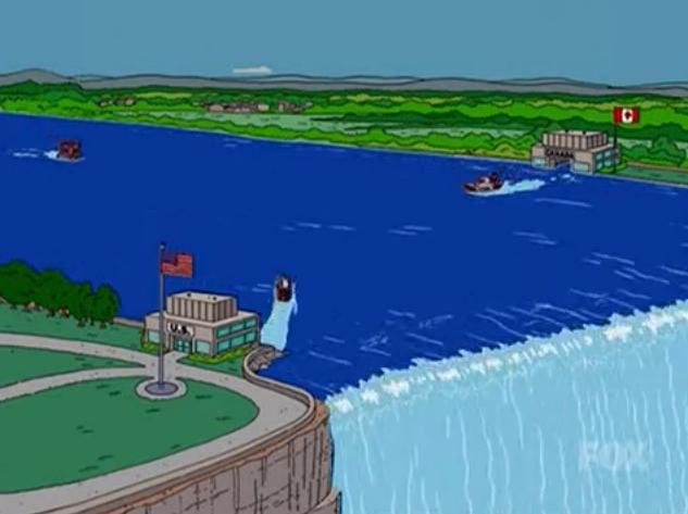 Simpsons Bouncy castle Niagara_Falls