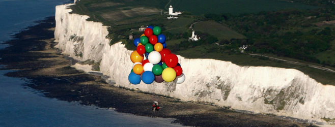 Jonathan Trappe Cluster Ballooning across the English channel