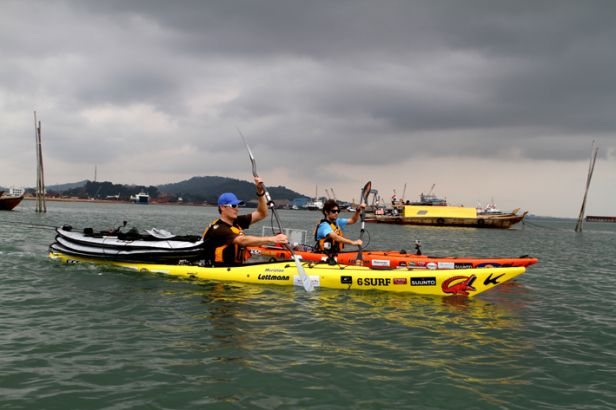 Sumatra Challege, a kayaking adventure around the world's 5th largest island