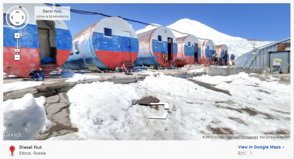 Diesel hut Elbrus, Russia