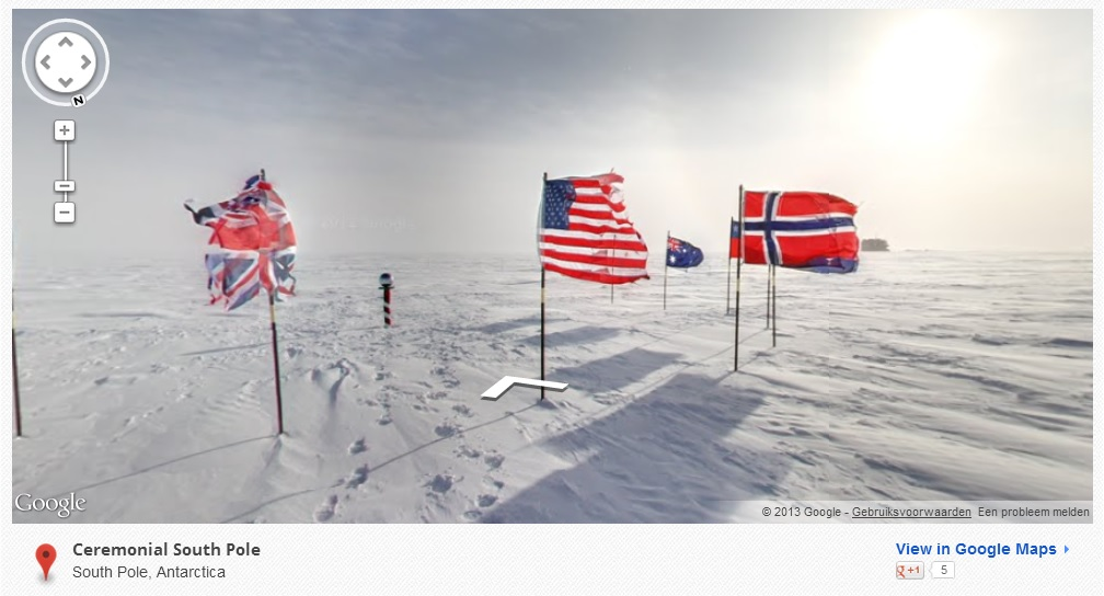Geographical South Pole
