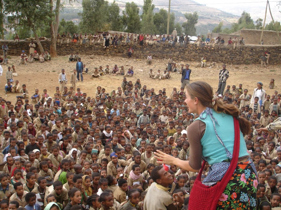 Theatre performance in Gondar