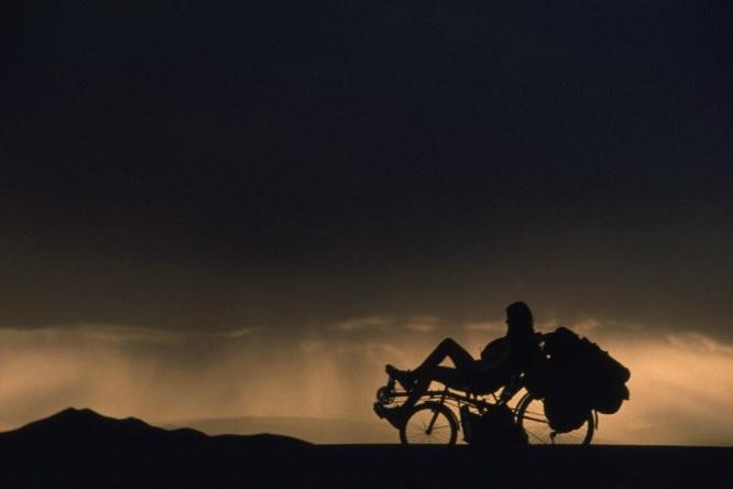 Tim at sunset