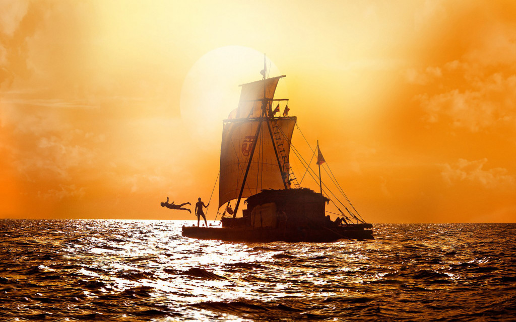 Kon-Tiki Thor Heyerdahl Six Men Cross the Pacific on a steerless Raft