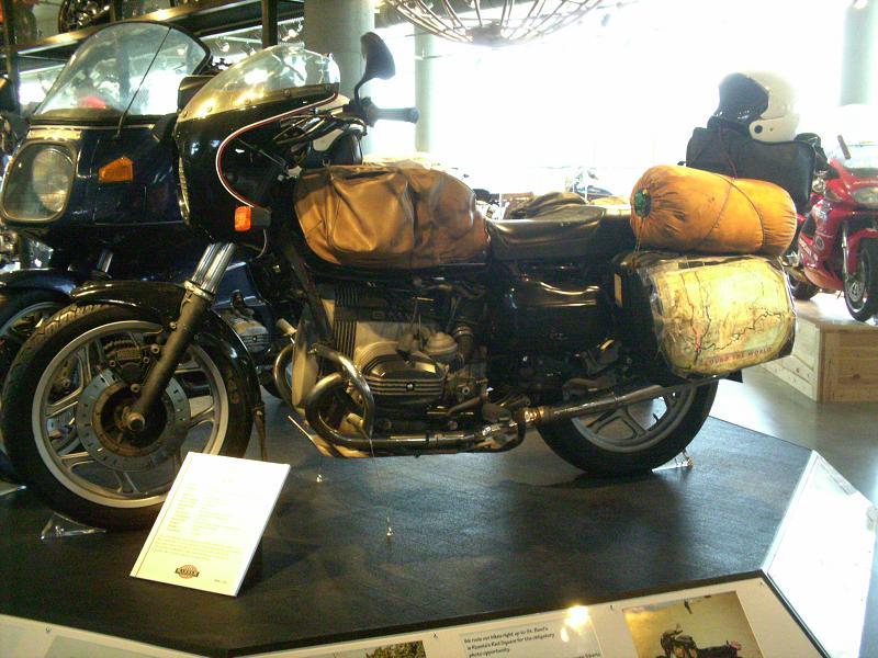 The BMW bikes