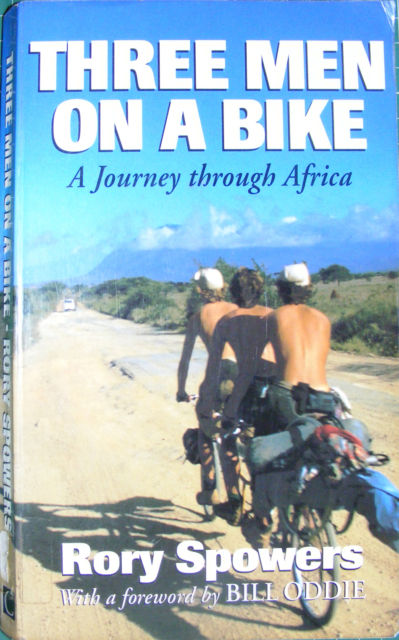 Three men on a bike_the book