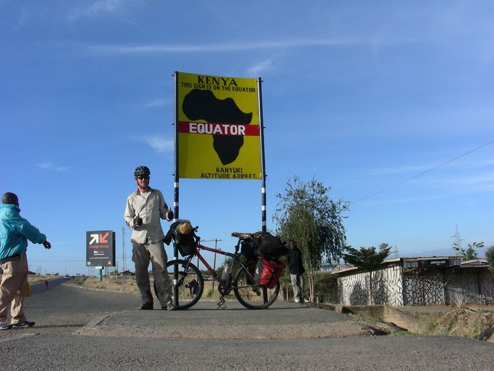 Equator in Africa