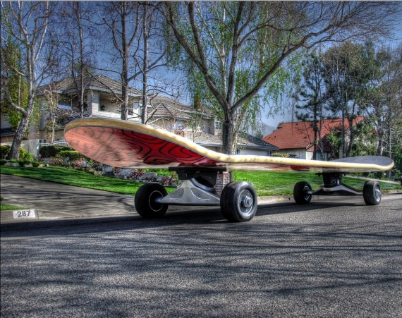 The world's largest skateboard is bigger than your car
