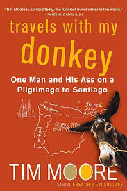 book cover travel with my donkey