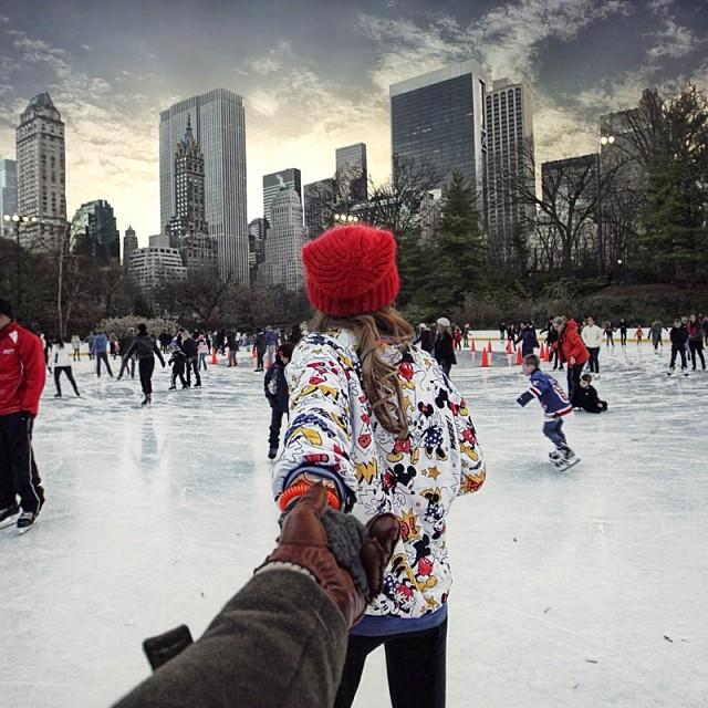 Central Park Ice Rink, New York City