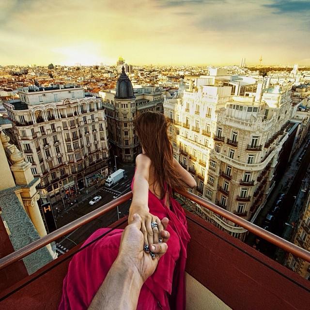 Roof of Praktik Hotel, Madrid