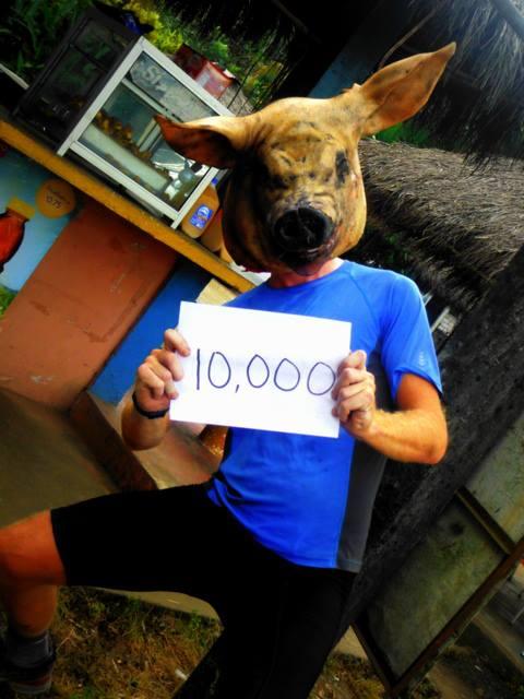 10000 km done