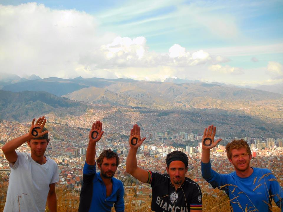 6000km done. Arriving into La Paz like conquering heroes.