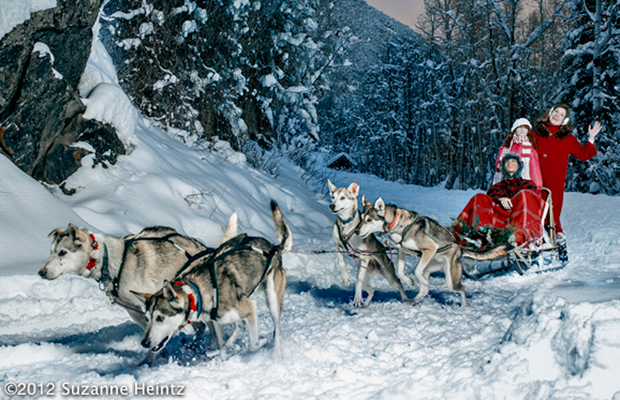 Dog sledding has always been a family dream