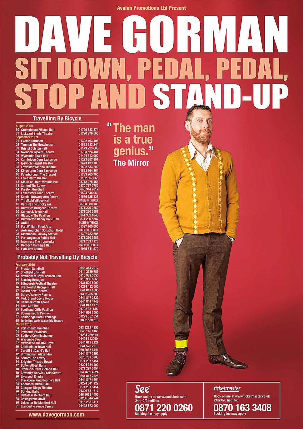 dave-gorman-sit-down-pedal-pedal-stop-and-stand-up-tour-pete-dadds