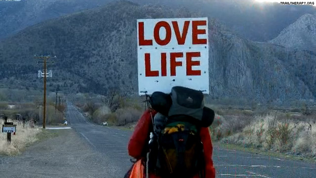 Steve Fugate's Trail Therapy for the love of life