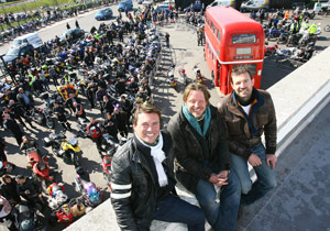 Charley Boorman's By Any Means trip from Ireland to Australia (Double Decker)