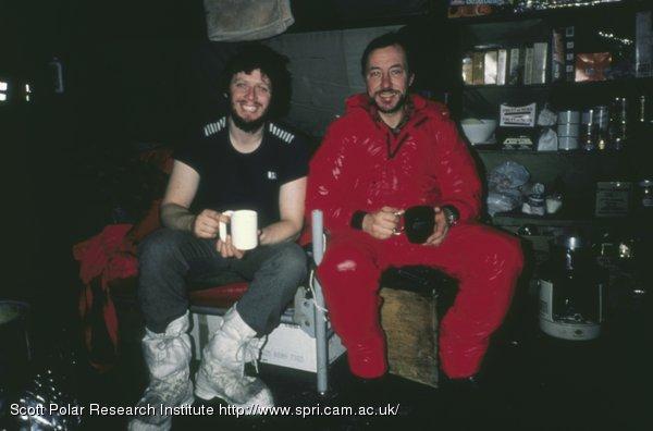Anton Birkbeck and Charlie Burton