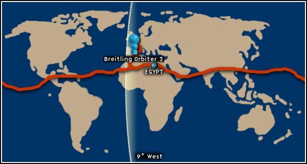 Breitling orbiter 3 (route)