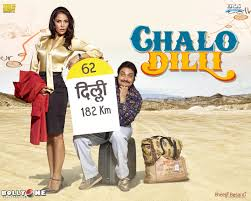 the best Bollywood Travel and Roadtrip movies - Chalo Dilli (Let's go to Delhi)