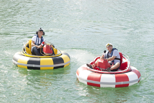 Jason-and-Dave-in-bumper-boats-1