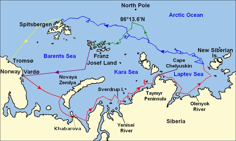 Nansen_Fram_Map