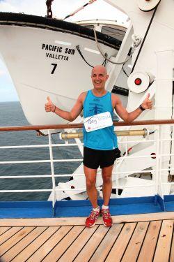 Ultra marathon at ship at sea1
