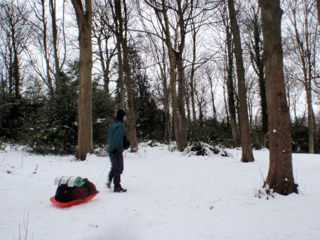 sledding the backpack M25 (Small)