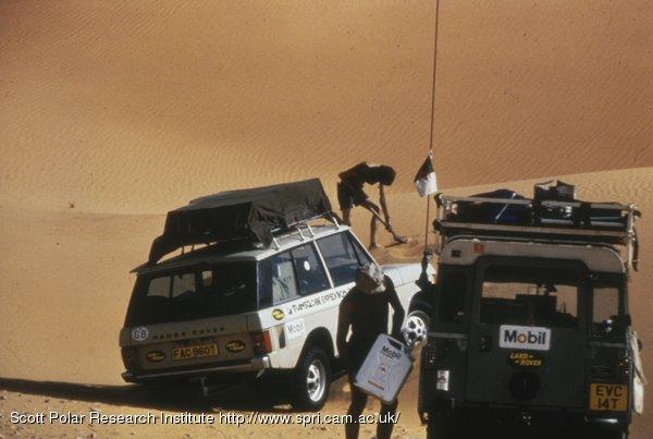 through the Sahara