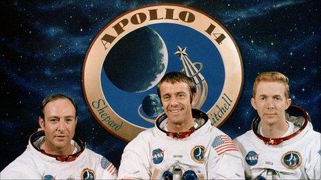 The Apollo 14 team