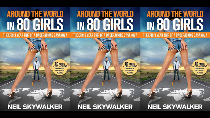 Around the world in 80 girls - the epic trip of a backpacking Casanova
