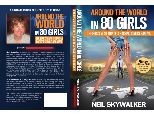 Around the world in 80 girls - Neil Skywalker's book cover