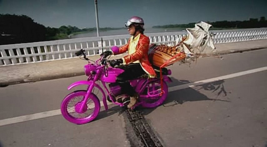 A Motorbike Trip across Vietnam involving Ridiculous Suits, Pink Amphibious Bikes & oversized Gift carrying - Kickass Trips
