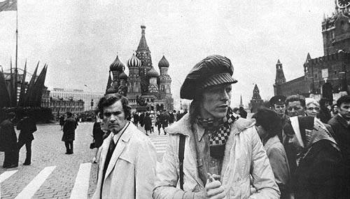 Bowie in Moscow
