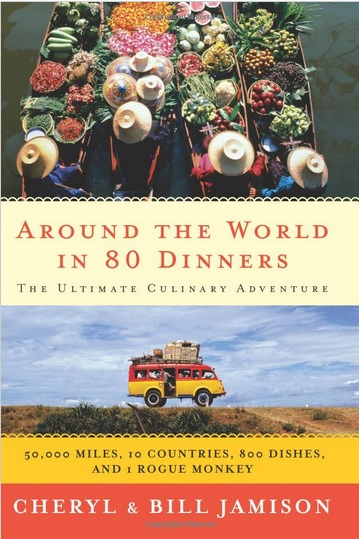 Around the world in 80 dinners - book cover