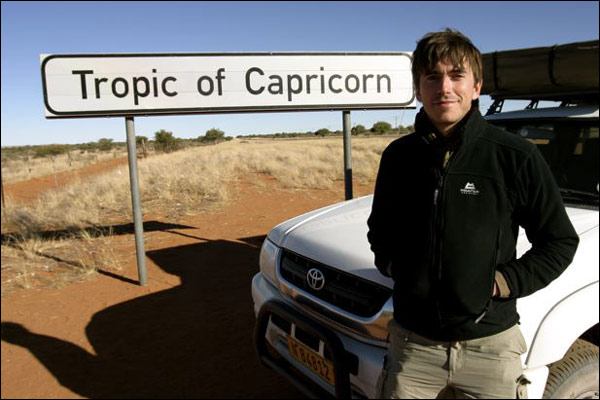 Tropic Of Capricorn On World Map.Simon Reeve Circles The World 3 Times Following The Equator Tropic