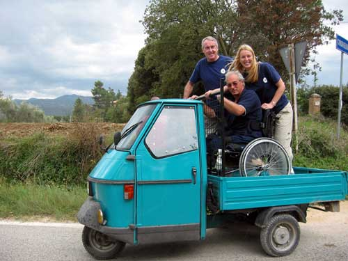Around the world in 80 ways by three disabled adventurers - Tuk Tuk