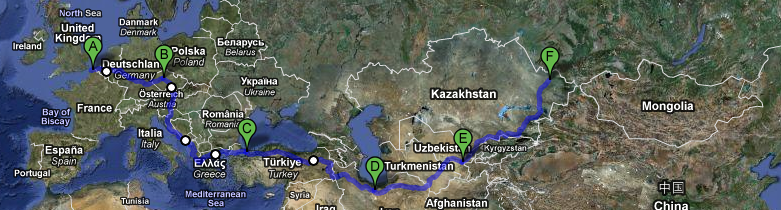 Return of the Yak Routemap (Small)