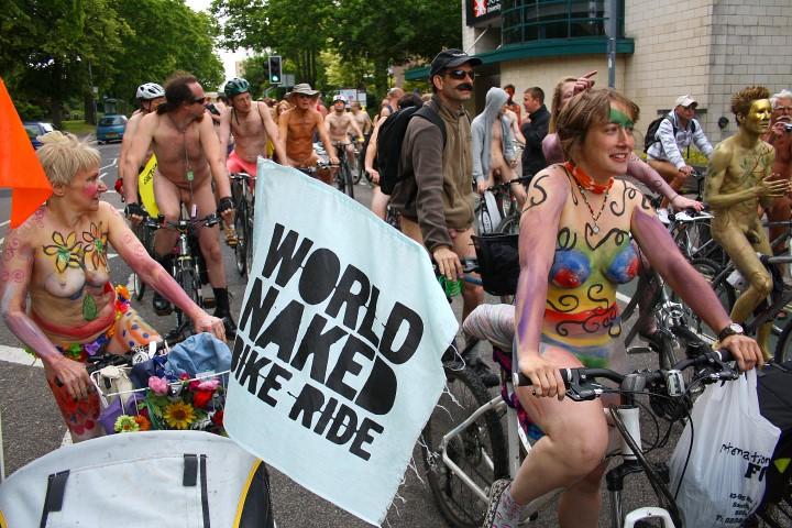 World naked bike ride Southampton (Small)