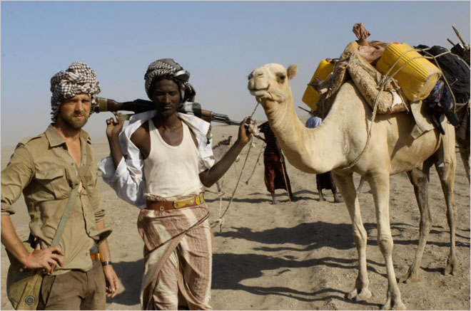 Jeremy Curl becomes the first Westerner to cross the Sahara by camel