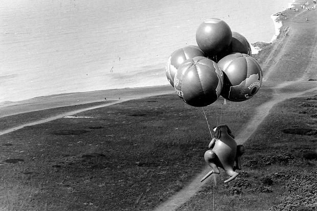 David Kirke Kangaroo Cluster Ballooning Channel Crossing