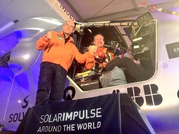 Solar Impulse 2: Borschberg and Piccard the initiators of the solar plane expedition