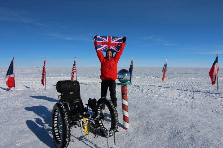 Reaching the South Pole