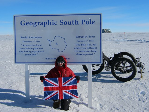At the Geographical South Pole