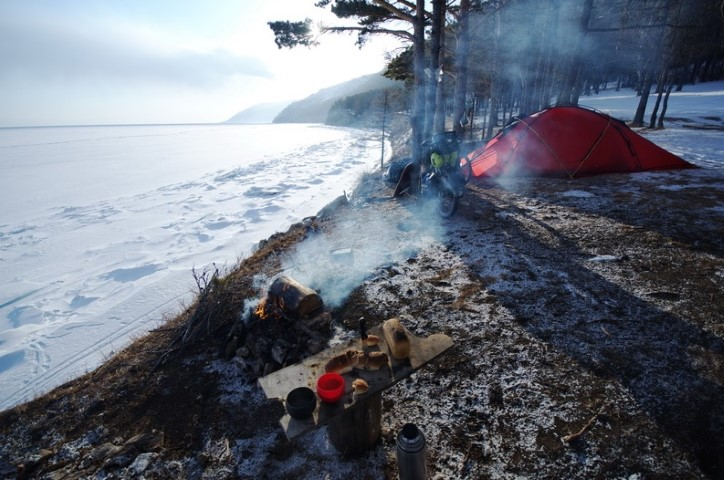 best camping spot with a fire place (Small)