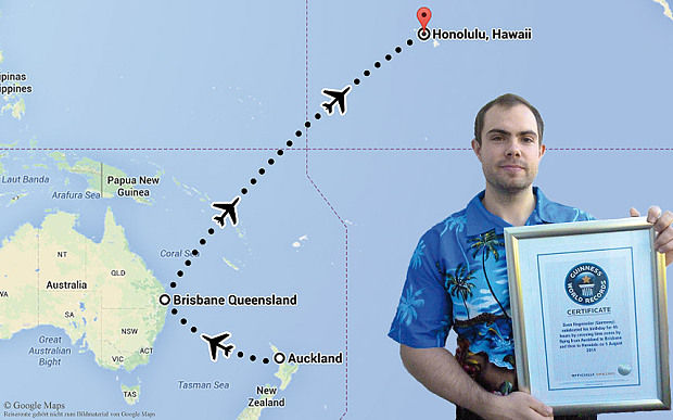 Sven Hagemeier celebrated the world's longest birthday by traveling back in time (2)