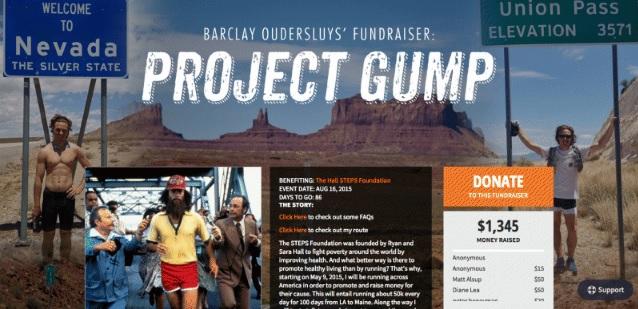 Project Gump fundraiser