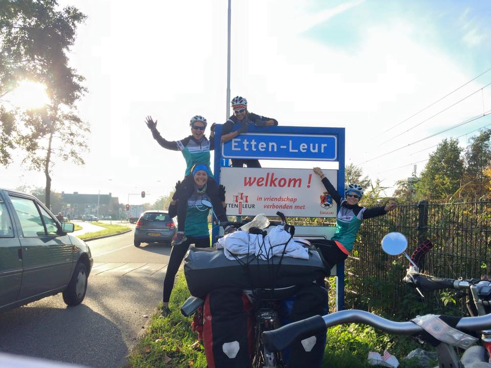 Ride for Women's Rights (R4WR) arrival back home